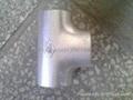 大口径铝三通,国标铝三通,WR-L-3 铝三通,对焊铝三通 9