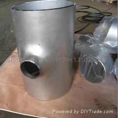 大口径铝三通,国标铝三通,WR-L-3 铝三通,对焊铝三通 14