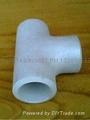 大口径铝三通,国标铝三通,WR-L-3 铝三通,对焊铝三通 12