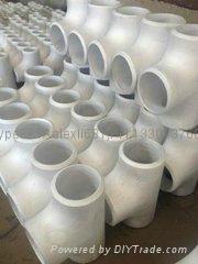 大口径铝三通,国标铝三通,WR-L-3 铝三通,对焊铝三通 17