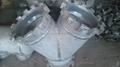大口径铝三通,国标铝三通,WR-L-3 铝三通,对焊铝三通