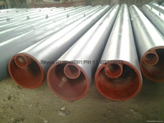 high chromium cast iron elbow,cerametal wear-resistant alloy pipe and elbow