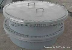 Manhole, eight blind flange, blind flange, stainless steel, alloy, carbon steel