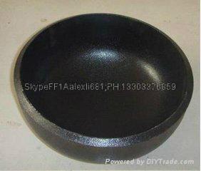 carbon steel pipe cap, plug,large diameter alloy pipe cap,Pipe cap 1