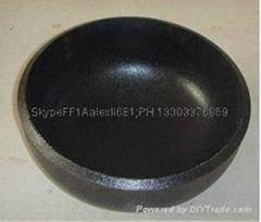 carbon steel pipe cap, plug,large diameter alloy pipe cap,Pipe cap
