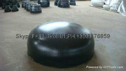 carbon steel pipe cap, plug,large diameter alloy pipe cap,Pipe cap 2