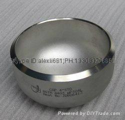 carbon steel pipe cap, plug,large diameter alloy pipe cap,Pipe cap 3