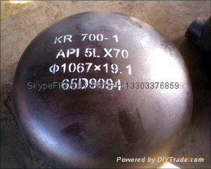 carbon steel pipe cap, plug,large diameter alloy pipe cap,Pipe cap 16