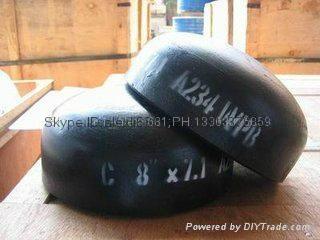 carbon steel pipe cap, plug,large diameter alloy pipe cap,Pipe cap 18