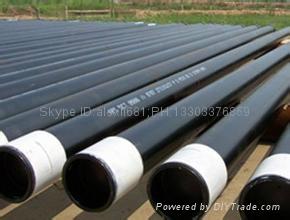 大量供应石油套管 27MnCrV 石油套管 加工石油套管 车丝 管箍  1