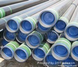大量供应石油套管 27MnCrV 石油套管 加工石油套管 车丝 管箍  3