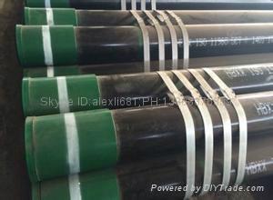 大量供应石油套管 27MnCrV 石油套管 加工石油套管 车丝 管箍  5