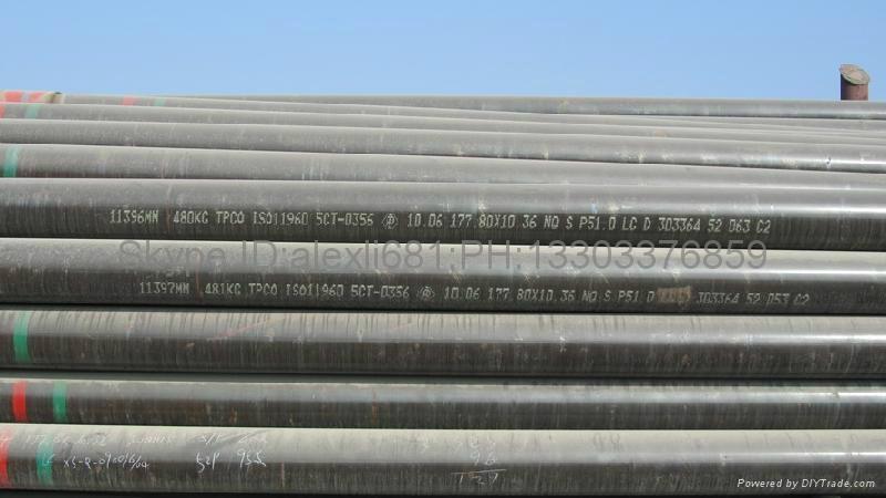 API5CT 石油套管 供应L80 石油套管 钻井专用石油套管 1