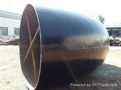 供應大口徑對焊彎頭 碳鋼LR SR 90°對焊彎頭 加強觔對焊彎頭
