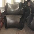 供应大口径对焊弯头 碳钢LR SR 90°对焊弯头 加强筋对焊弯头  5