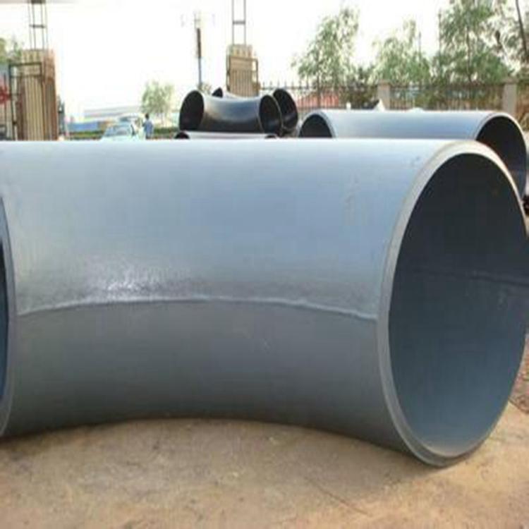 供应大口径对焊弯头 碳钢LR SR 90°对焊弯头 加强筋对焊弯头  12
