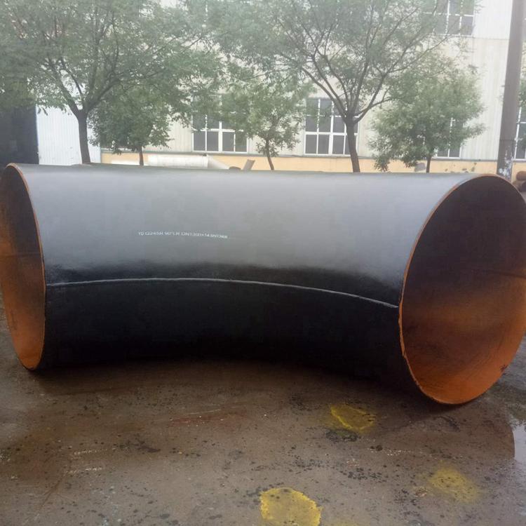 供应大口径对焊弯头 碳钢LR SR 90°对焊弯头 加强筋对焊弯头  13