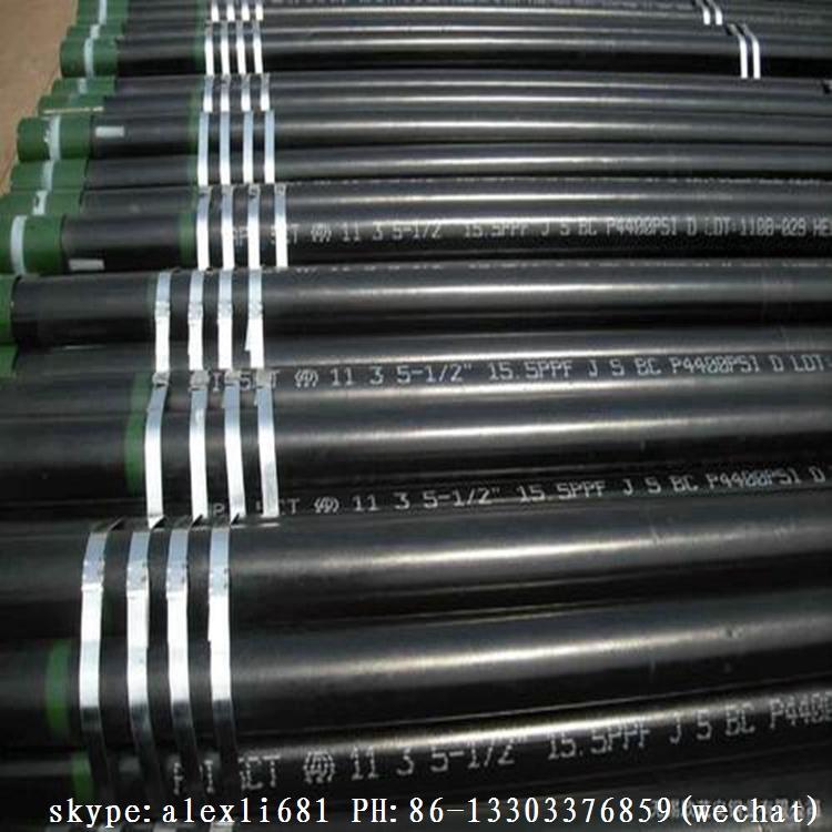 供应石油套管 生产K55石油套管 N80 L80石油套管 BTC 石油套管 4