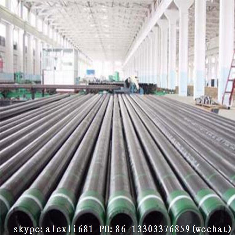 供应石油套管 生产K55石油套管 N80 L80石油套管 BTC 石油套管 8