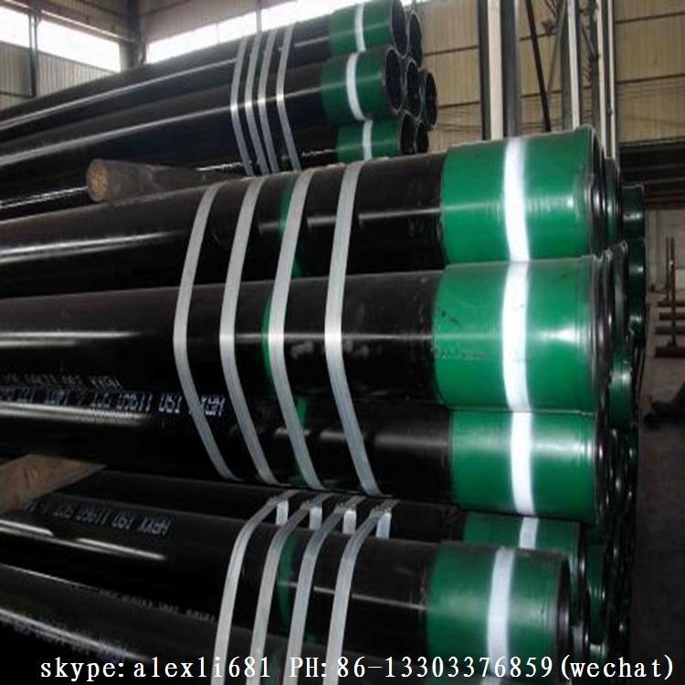 API5CT gas oil casing pipe BTC R3 casing pipe