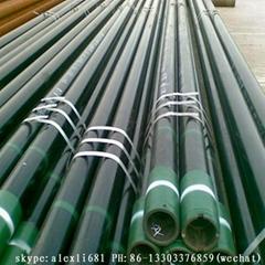 API5CT oil casing tube selling well casing tube N80 J55 casing tube