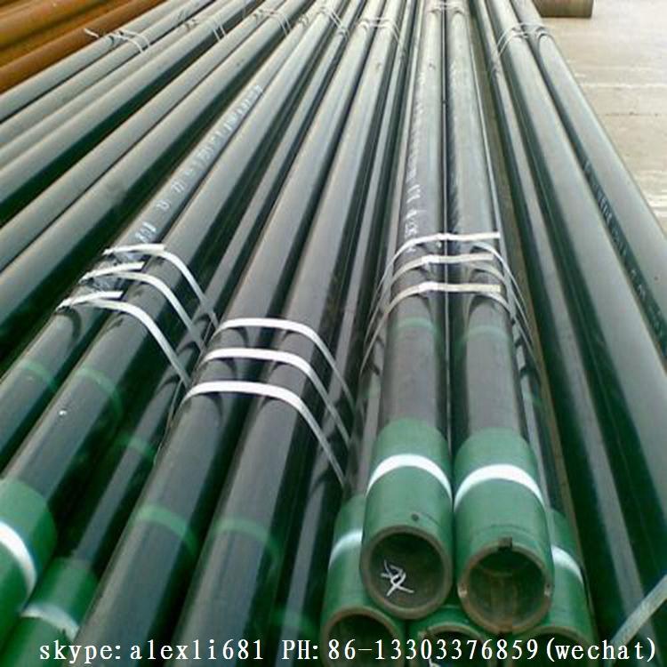 API 5CT BTC LTC oil casing tube J55 K55 casing pipe