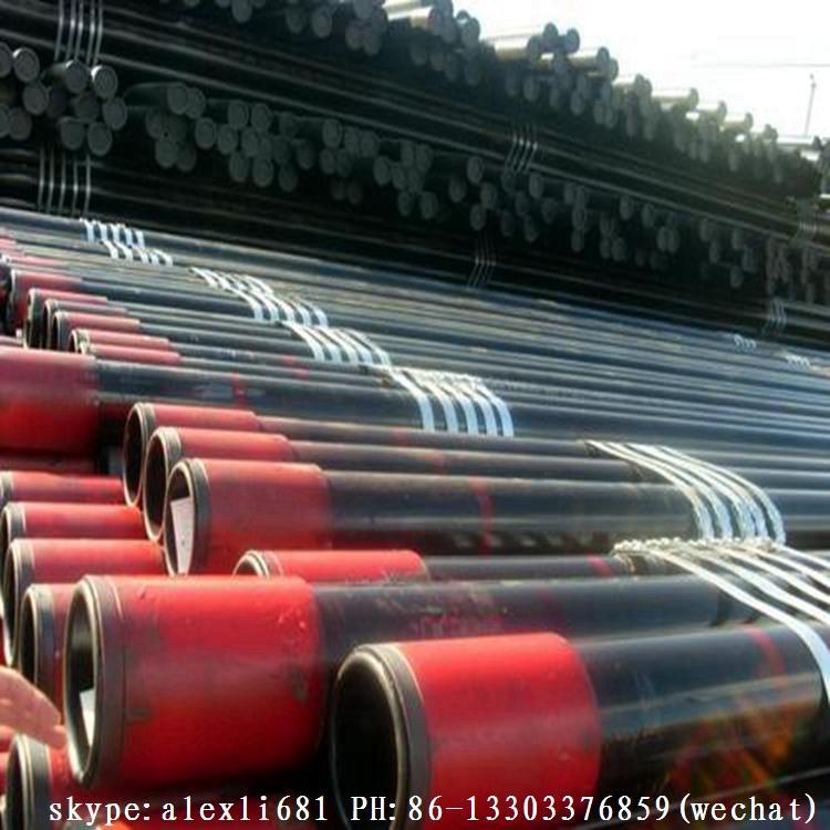 API5CT 石油套管 J55 K55 石油套管 供應石油套管 短圓扣石油套管 10