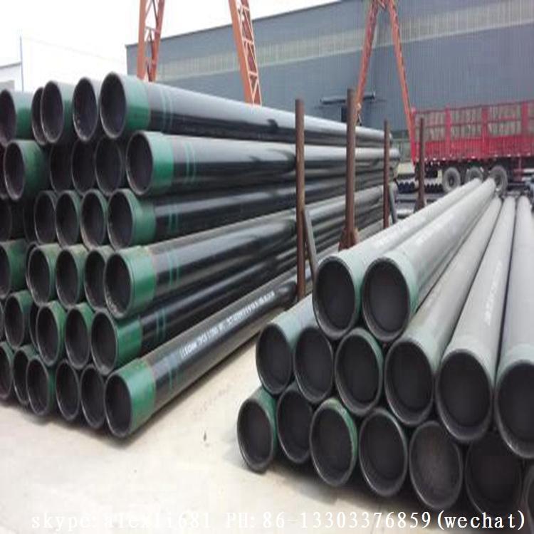 API5CT 石油套管 J55 K55 石油套管 供應石油套管 短圓扣石油套管 13