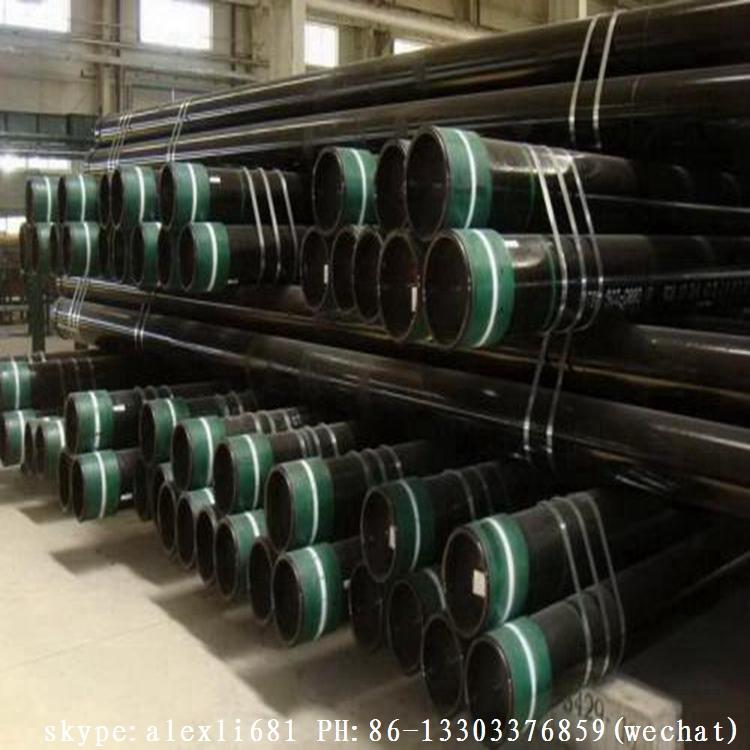 API5CT 石油套管 J55 K55 石油套管 供应石油套管 短圆扣石油套管 17