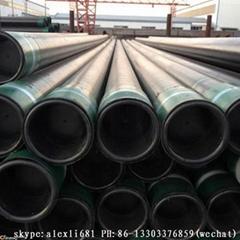 P110 gas oil casing pipe API 5ct casing pipe C90 T95