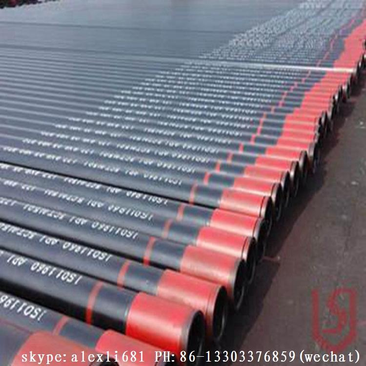 Q235 Q345,S235-275JR/J0/J2 SS400 A36 and equivalent  casing pipe 16