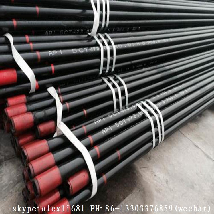 大量生產石油套管 無縫套管 L80 套管 N80套管 管箍 18