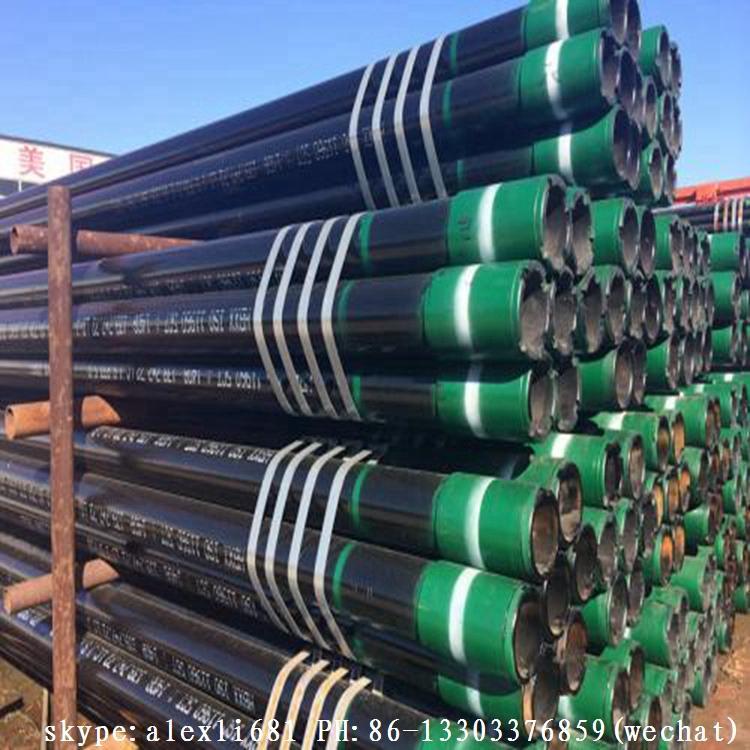 best selling casing pipe oil gas  casing pipe coupling casing pipe   API casing  12