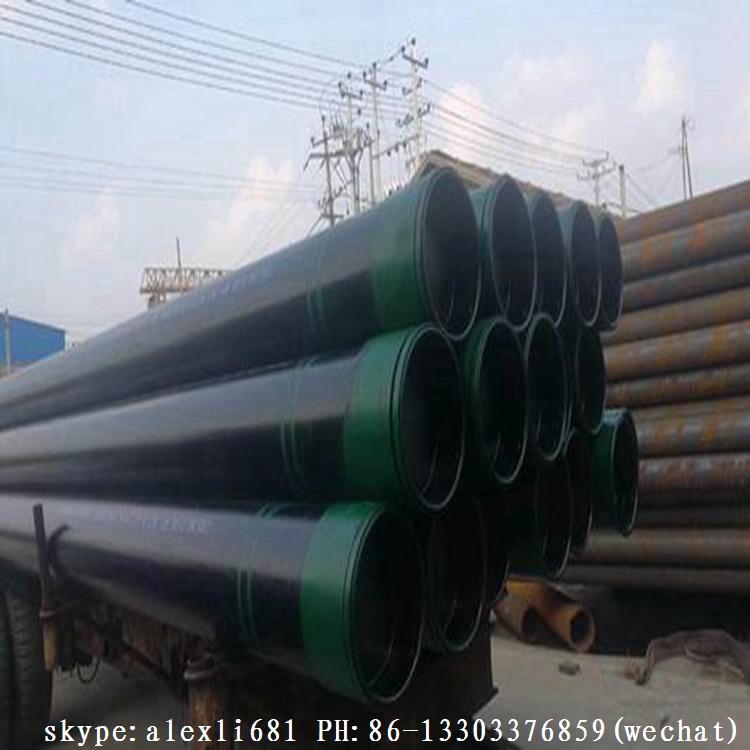 热卖石油套管,L80,N80,K55,J55 油管,石油套管,114-339mm,R1R2R3 7
