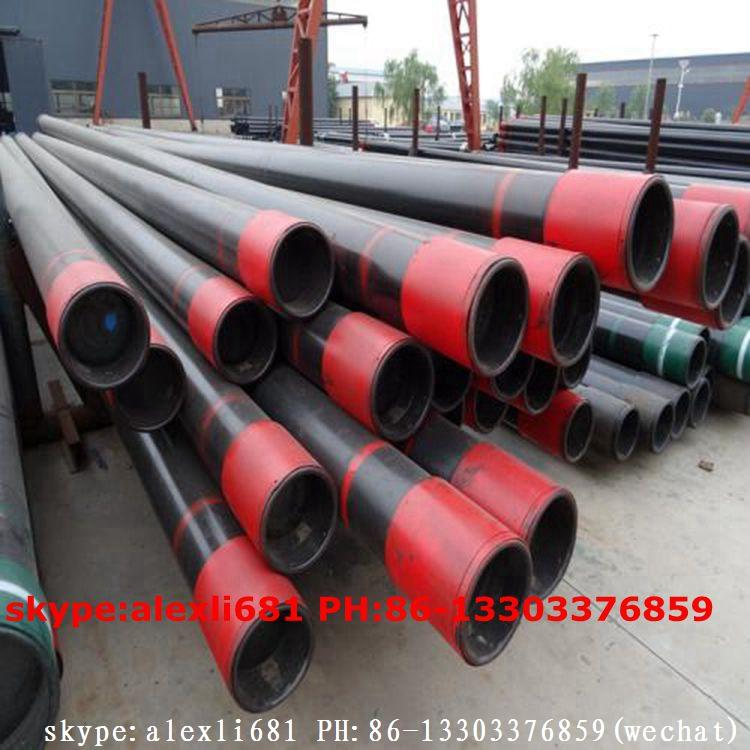 casing pipe ,oil pipe,R3 pipe,J55,K55 H40,N80 API 5CT  ppf ,coupling  8
