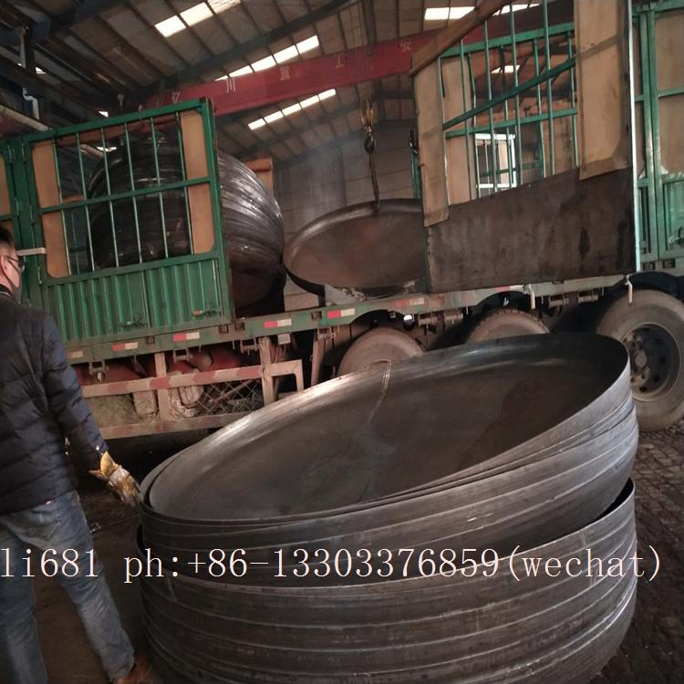 carbon steel pipe cap, plug,large diameter alloy pipe cap,Pipe cap 18