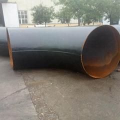 长半径1.5D 无缝碳钢20# 大口径弯头 美标弯头 大口径对焊弯头