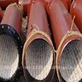 Wear-resistant ceramic elbow, tee, reducer, wear-resisting bend 4
