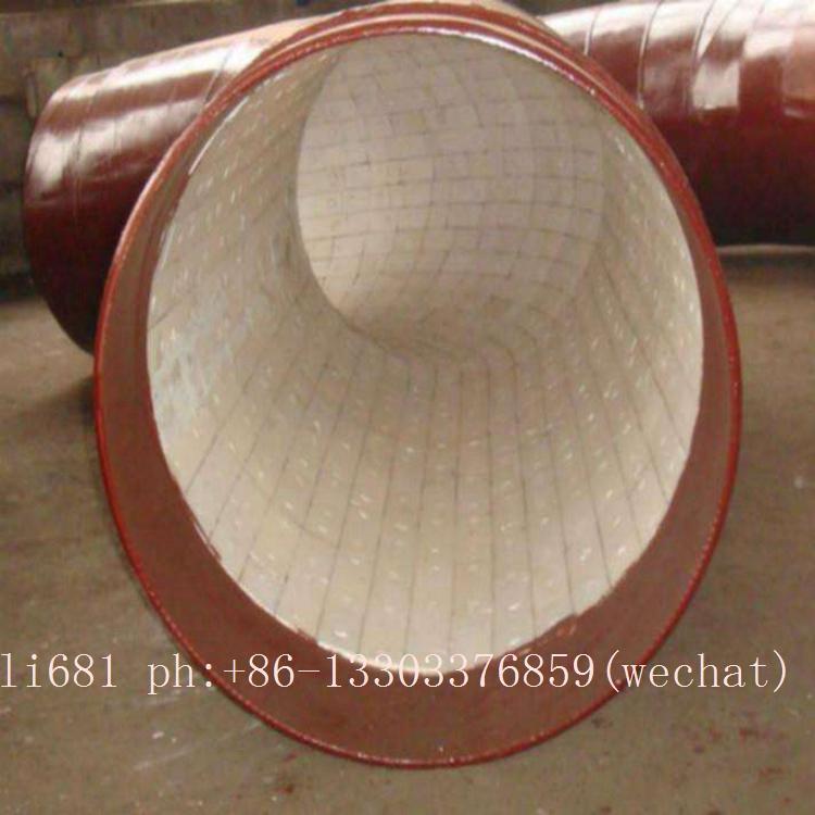 耐磨三通 耐磨弯管,陶瓷弯头,大小头. 陶瓷贴片直管 陶瓷贴片弯管 5