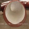 Wear-resistant ceramic elbow, tee, reducer, wear-resisting bend 5