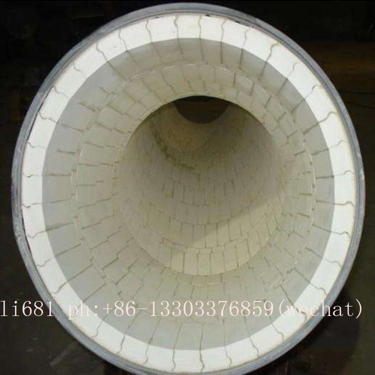 Wear-resistant ceramic elbow, tee, reducer, wear-resisting bend 11