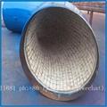 Wear-resistant ceramic elbow, tee, reducer, wear-resisting bend 17