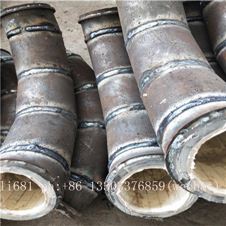 Wear-resistant ceramic elbow, tee, reducer, wear-resisting bend 20