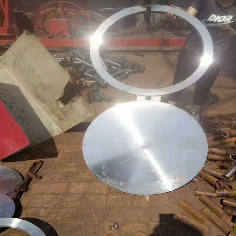 八字盲板插板垫环垫板 不锈钢,合金,碳钢盲板,盲法兰 1