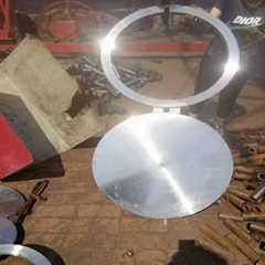 eight blind flange, blind flange, stainless steel, alloy, carbon steel blind
