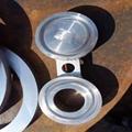 八字盲板插板垫环垫板 不锈钢,合金,碳钢盲板,盲法兰 7