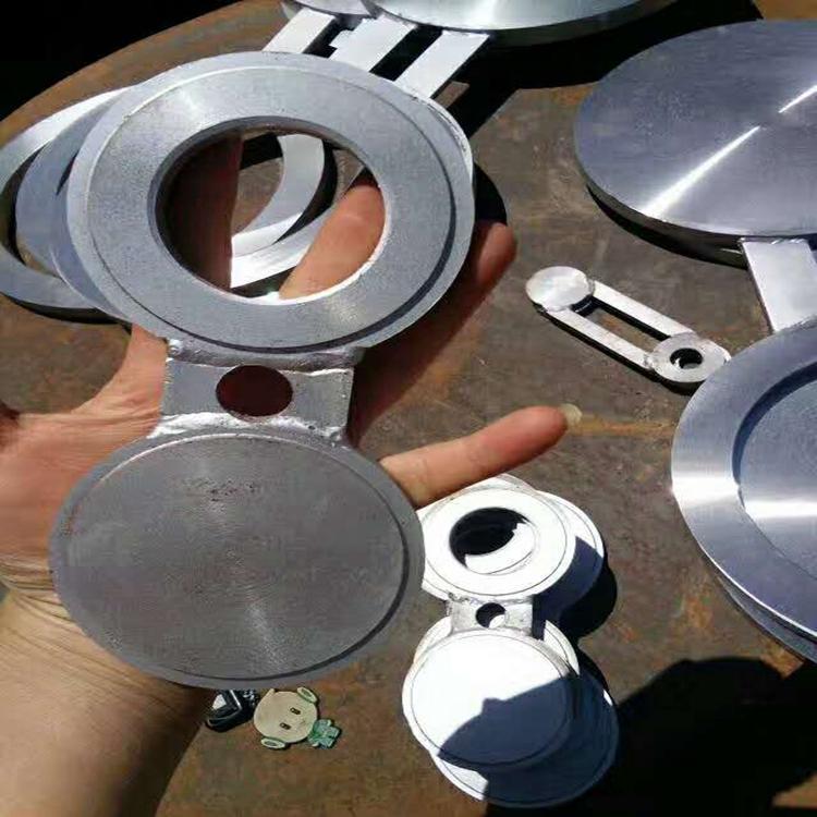 八字盲板插板垫环垫板 不锈钢,合金,碳钢盲板,盲法兰 8