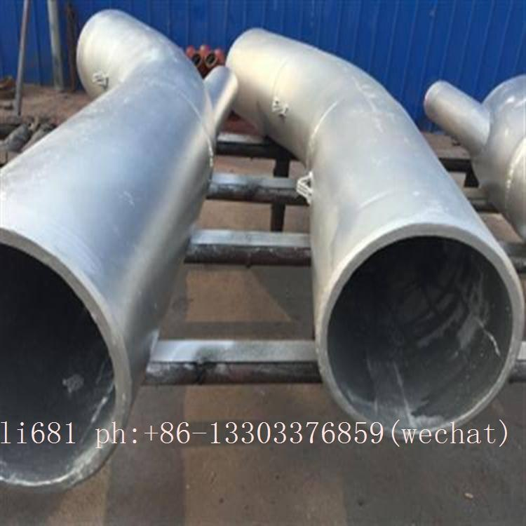 high chromium cast iron elbow,cerametal wear-resistant alloy pipe and elbow  20