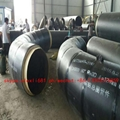 Insulation elbow and polyurethane steel pipe