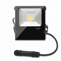 60w Meanwell Driver high power cob led flood light with 6 years warrant